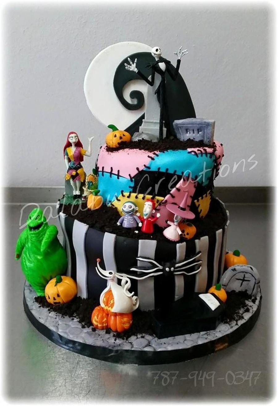 Nightmare Before Christmas Cakecentral Com