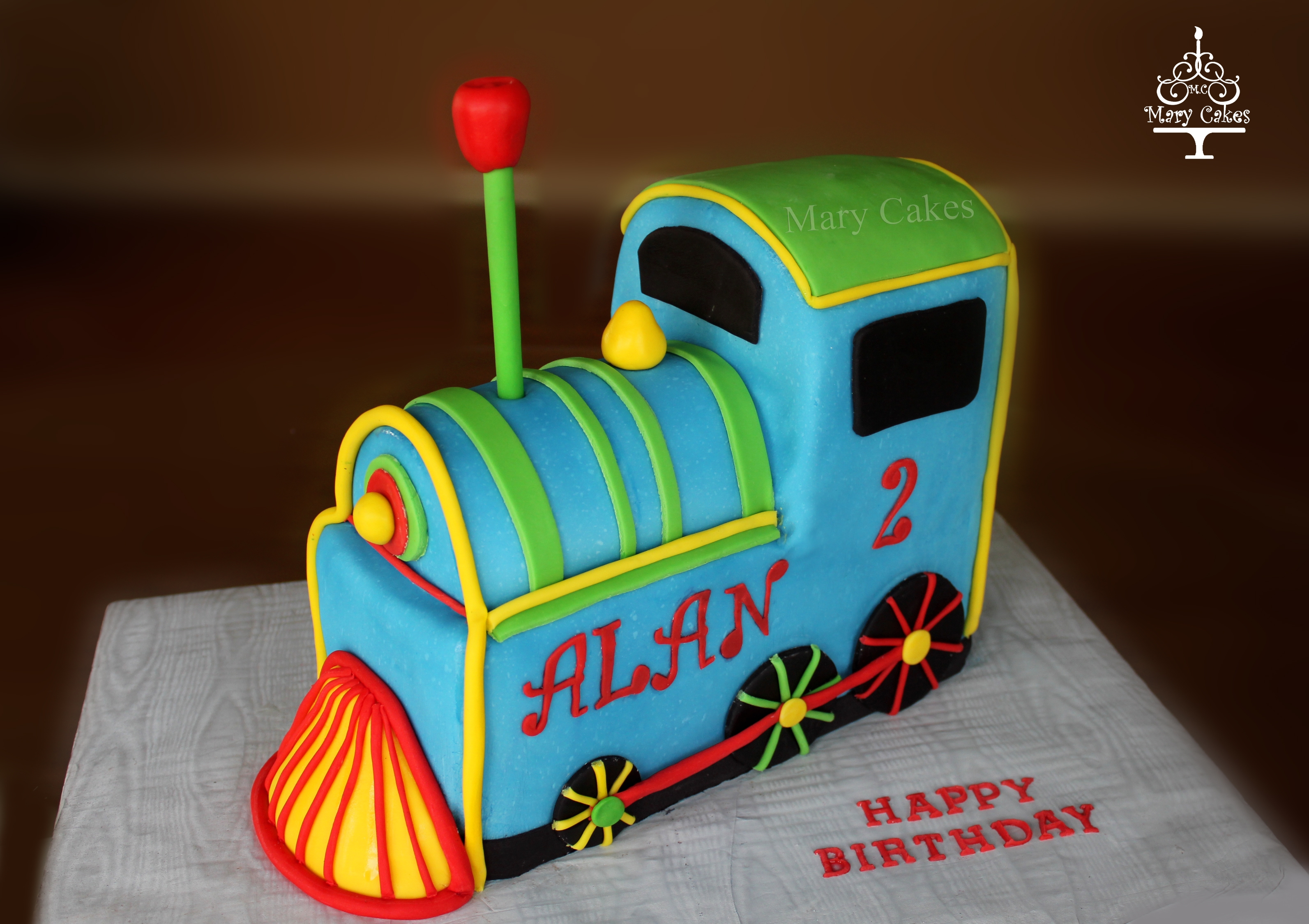 3d Train Cake
