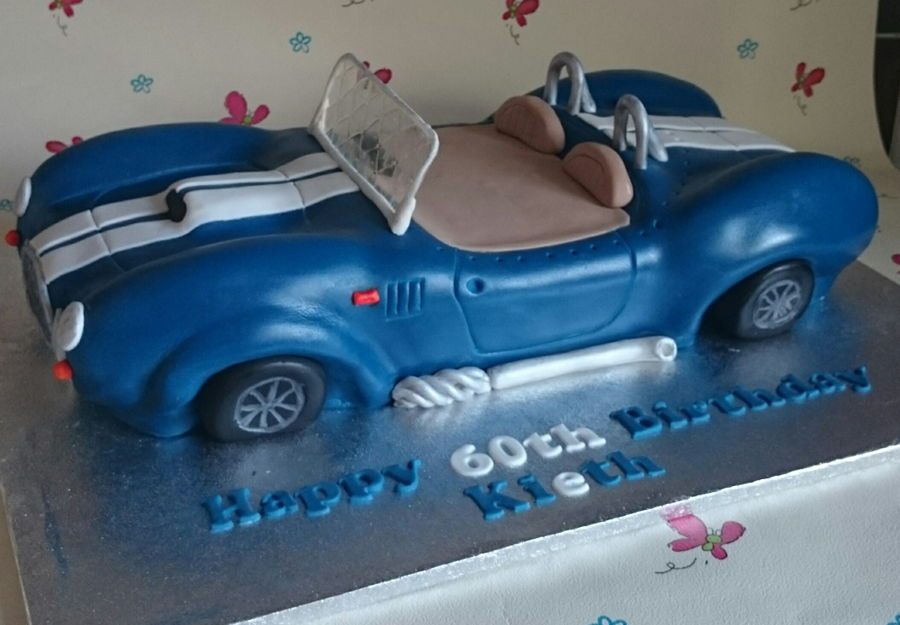 Ac Cobra Birthday Cake Cakecentral Com