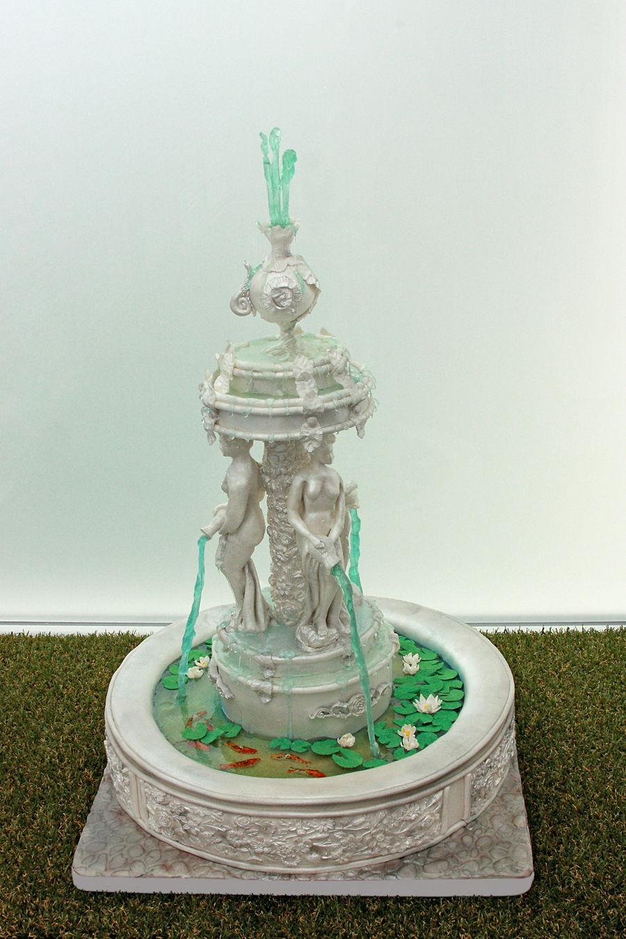Fountain Cake Cakecentral Com