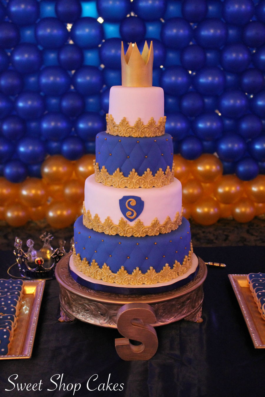 Royal Prince Birthday Cake Cakecentral Com