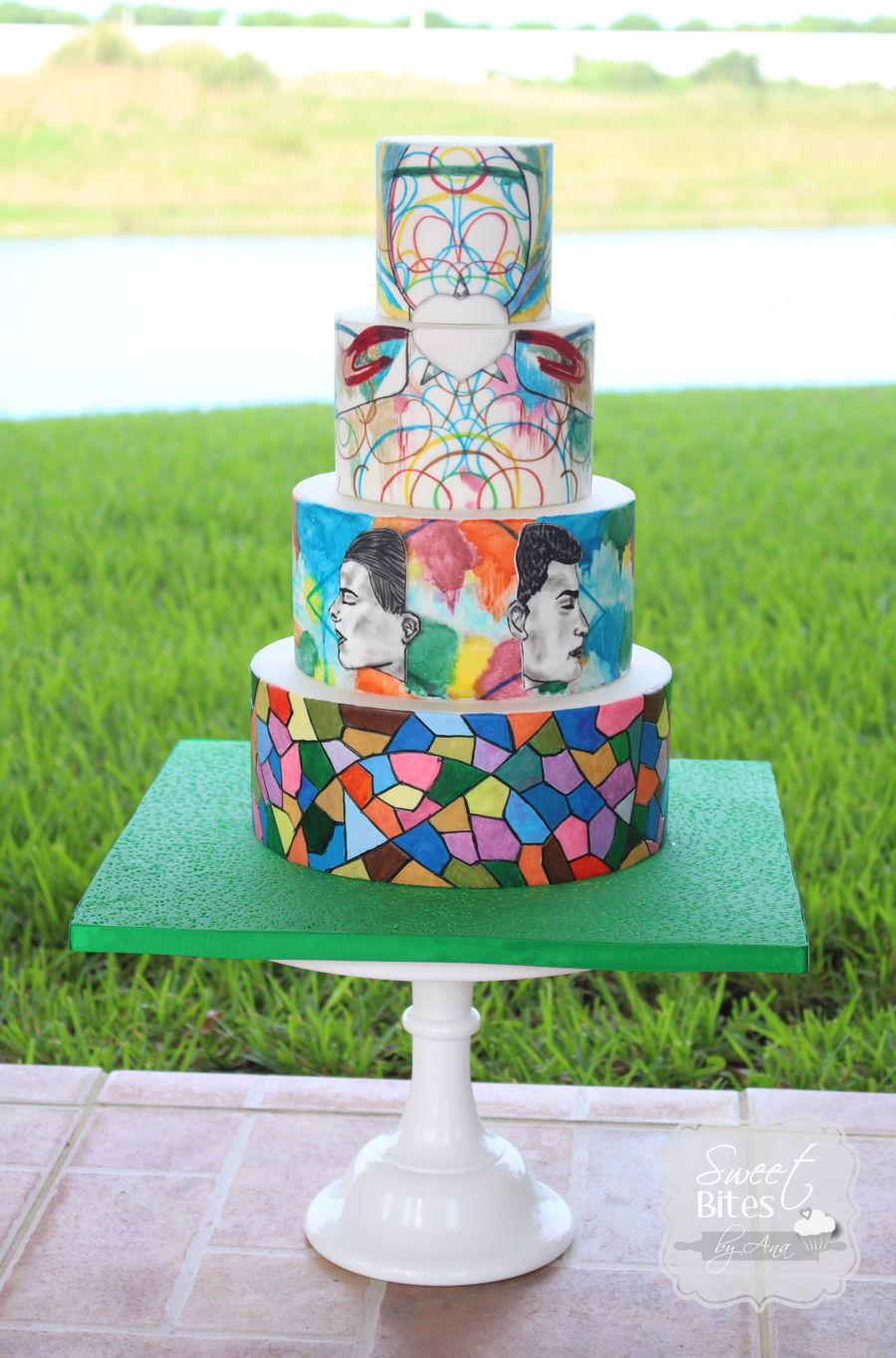 Cuties Street Art Cake Collaboration Cakecentral Com