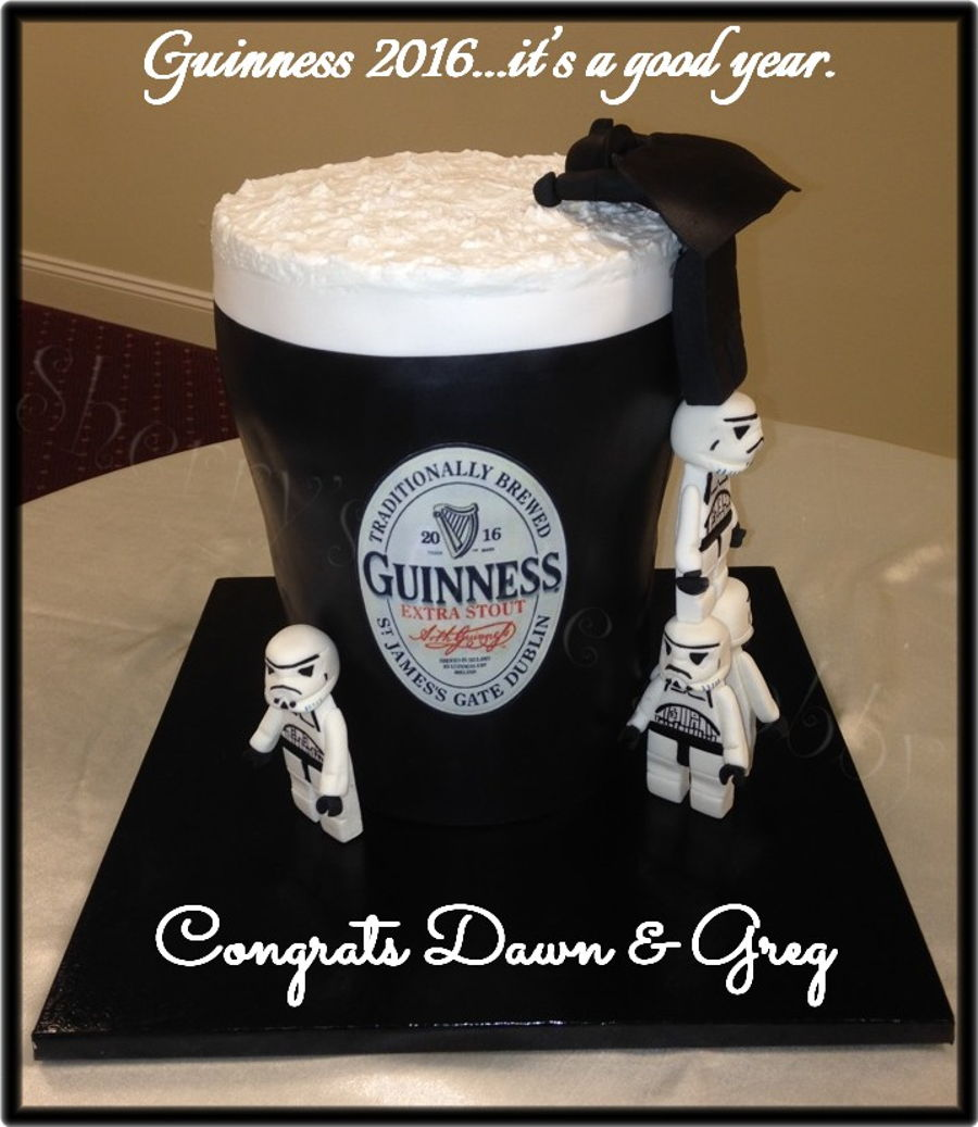 Star Wars Guinness Groom S Cake Lego Storm Troopers