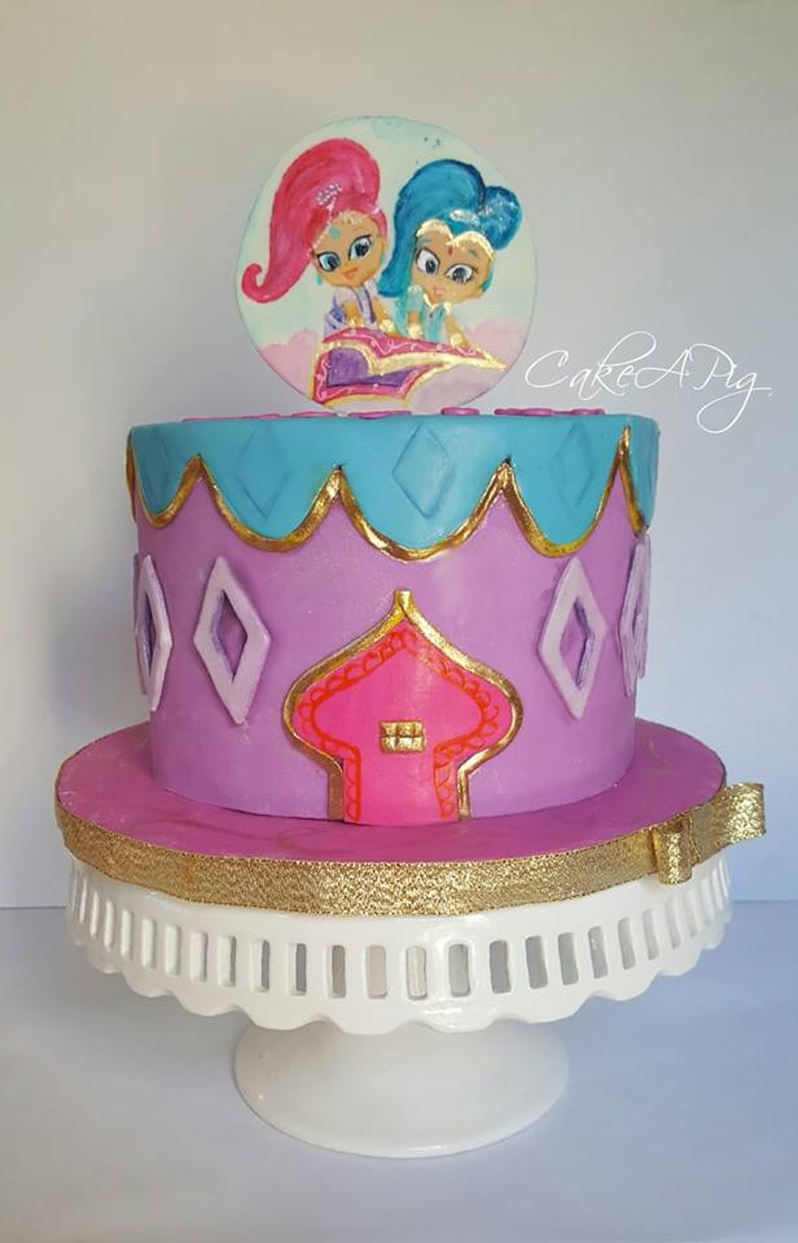 Shimmer And Shine Cakecentral Com