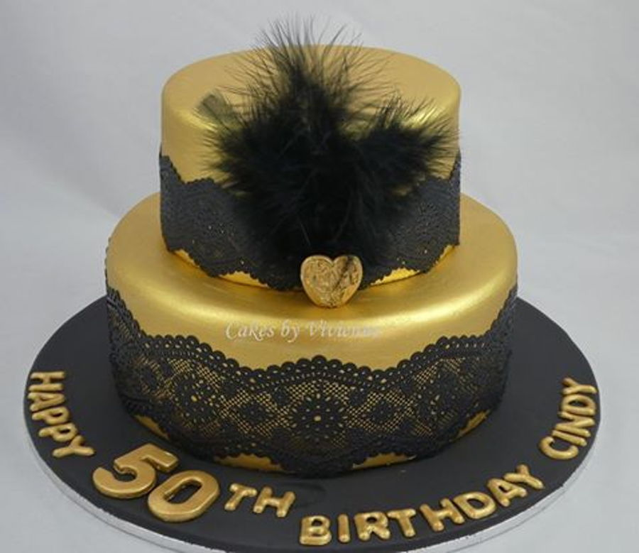 Great Gatsby 50th Birthday Cake Cakecentral Com