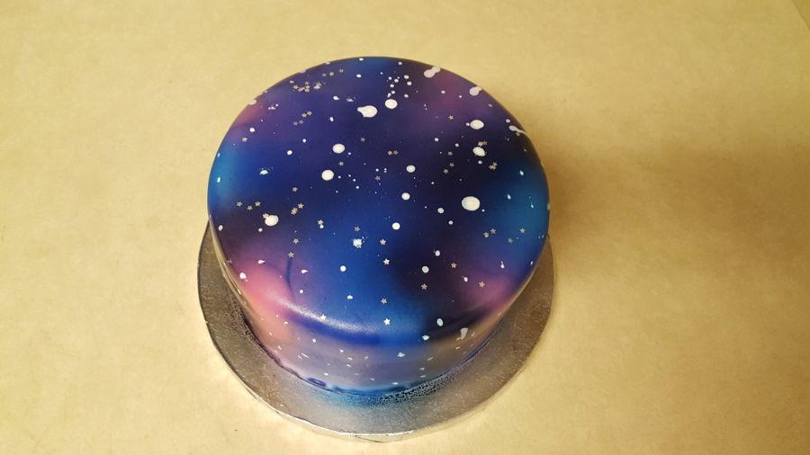 Galaxy Cake Cakecentral Com