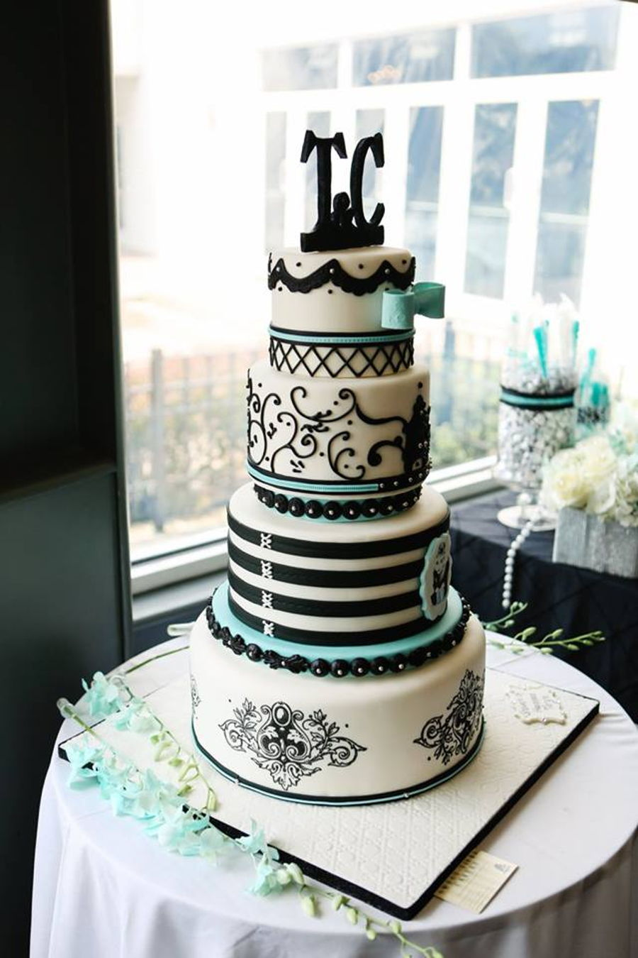 Tiffany Themed Cake Cakecentral Com