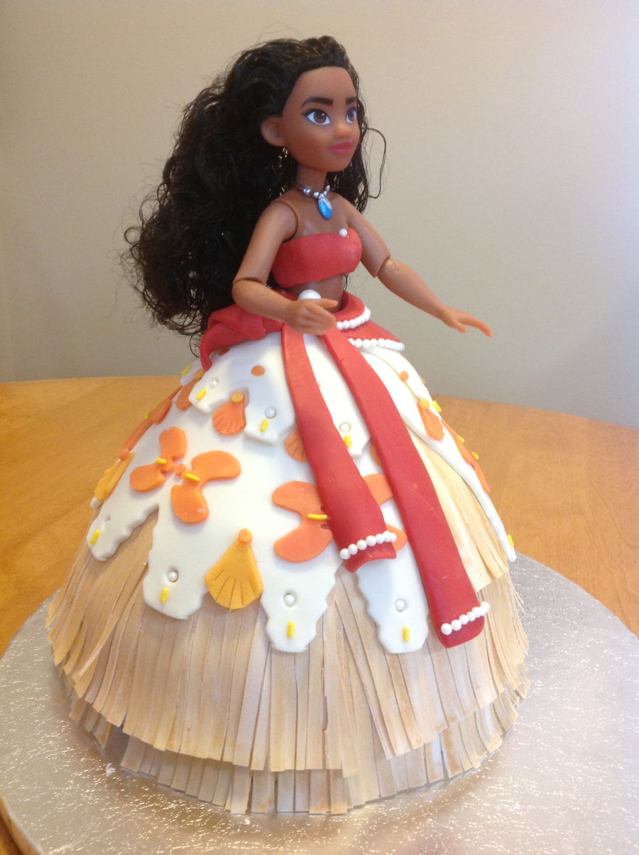 Rosie S Moana Cakecentral Com