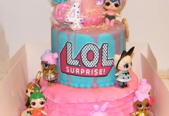 Lol Surprise Birthday Cake Cakecentralcom
