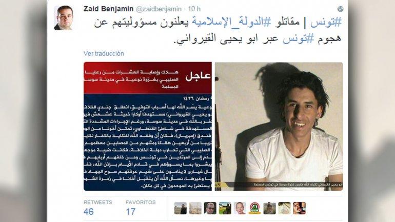 El comunicado de ISIS celebrando que su soldado del califato haya cometido una masacre en una guarida de la fornicación y la apostasía
