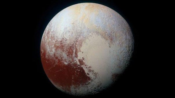La NASA aplicó el análisis de componentes sobre esta foto de Plutón, tomada por la sonda New Horizons en 14 de julio pasado.