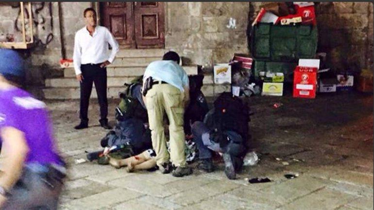 El ataque ocurrió en la Ciudad Vieja de Jerusalen, cerca del Muro de los Lamentos