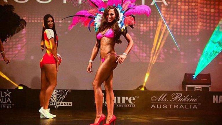 Karin Jansma ganó el concurso Muscle Mania Australia, en la categoría Modelo Fitness