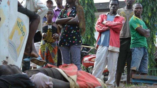 Una serie de ataques simultáneos dejan varios muertos en Bujumbura