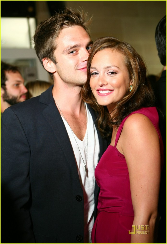 Image result for Leighton Meester and Sebastian Stan
