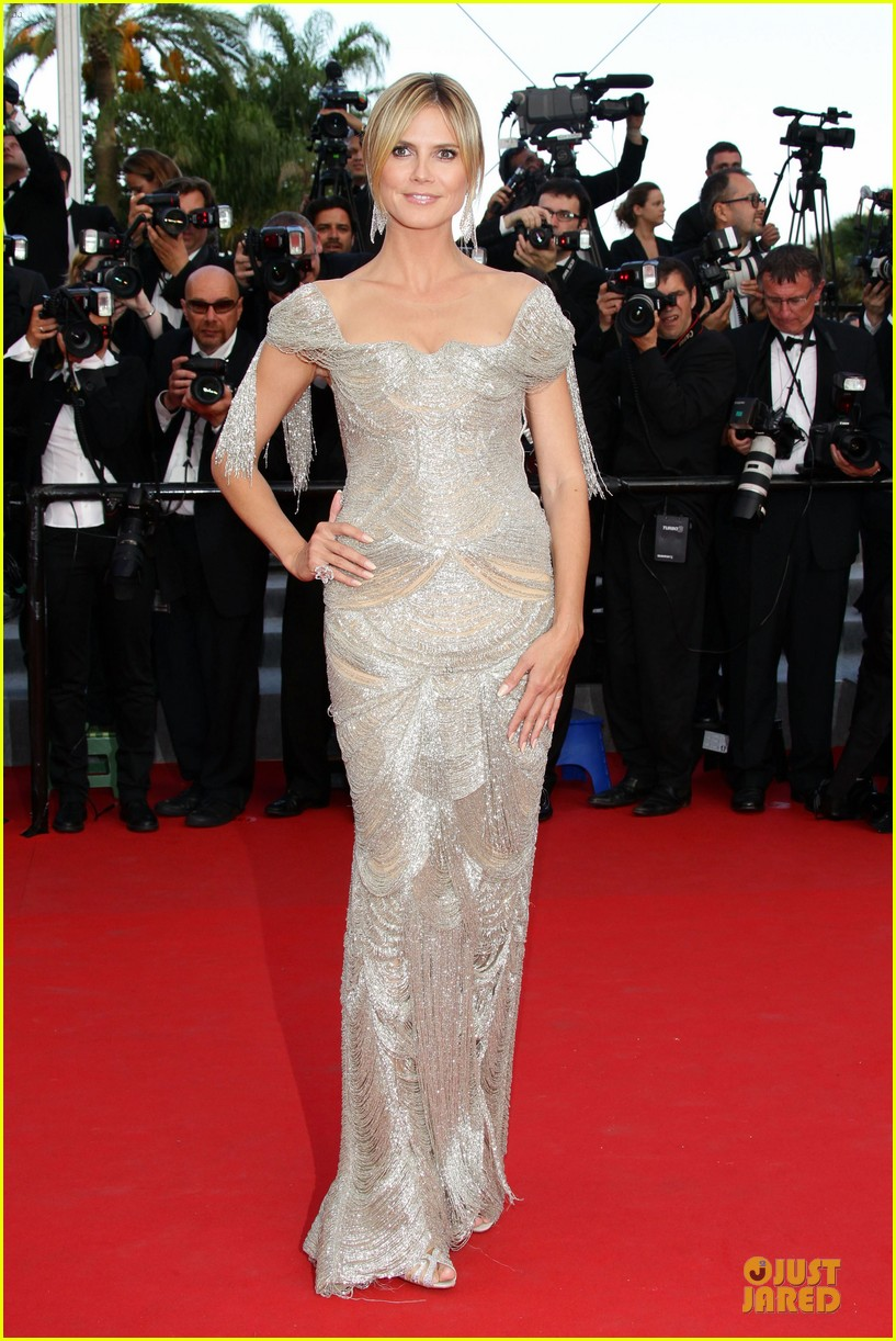 Heidi Klum AmfAR Cannes Gala 2012 Photo 2666408 2012