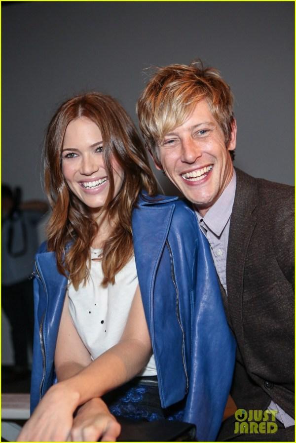 Gabriel Mann Fashion Fun with Mandy Moore Josh Bowman