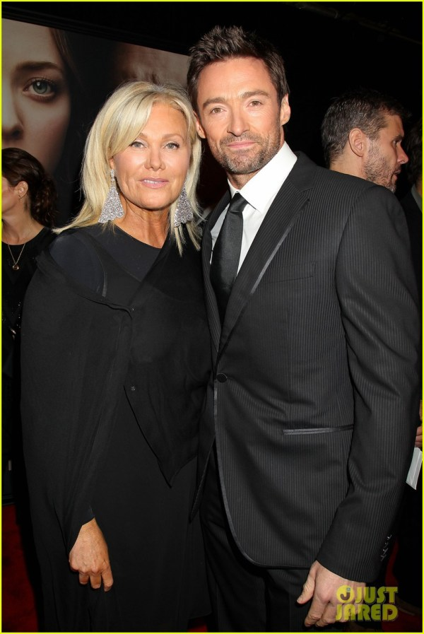 Hugh Jackman & Russell Crowe: 'Les Miserables' NYC ...