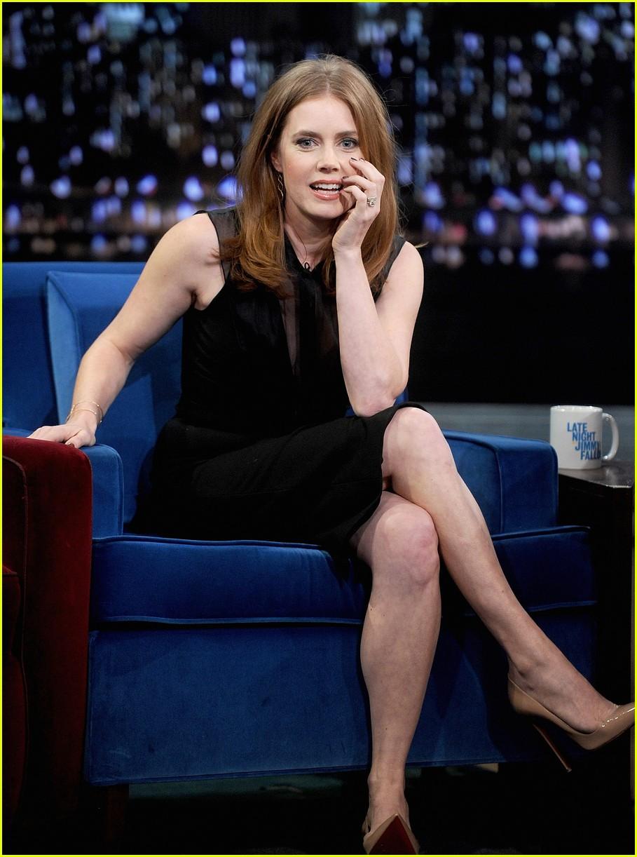 Amy Adams Talks Emotional Kiss With Jennifer Lawrence