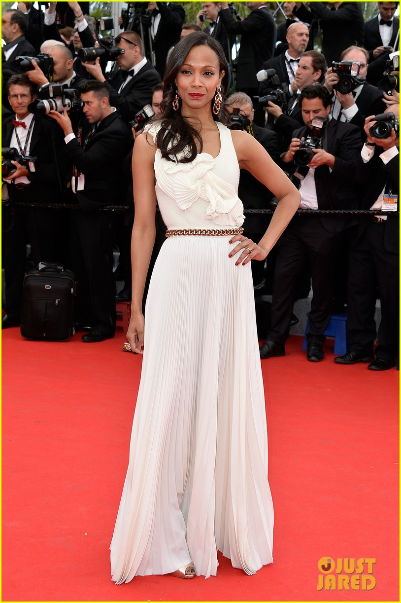 zoe saldana ziyi zhang epitomize class at cannes opening ceremony 10