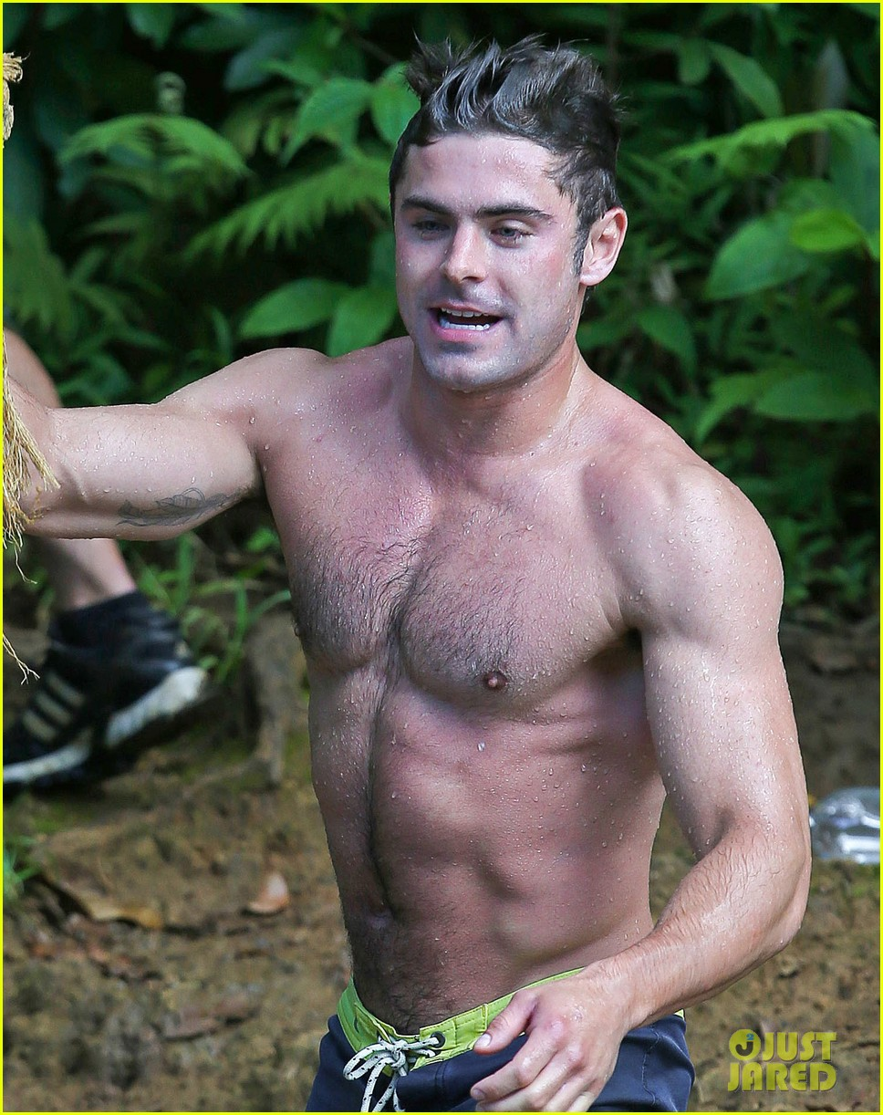 zac efron shirtless hawaii more ripped than ever 06