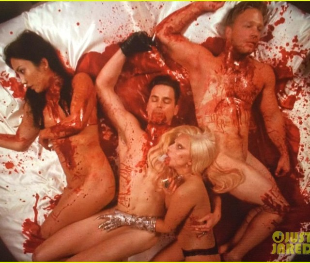 Lady Gaga Matt Bomer Bloody Sex Scene 043479270