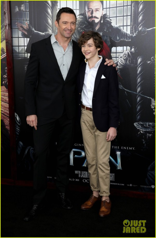 Hugh Jackman & Rooney Mara Premiere 'Pan' in NYC With ...