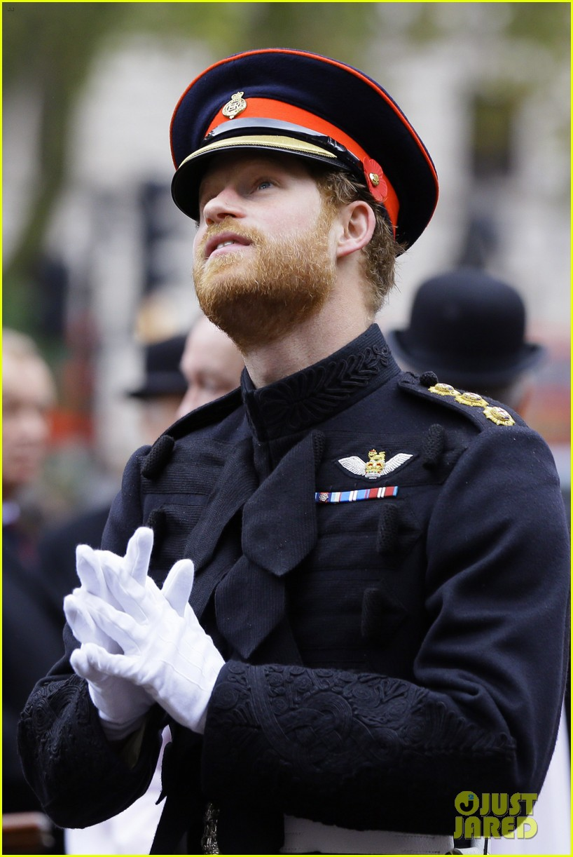 Prince Harry Pays Respect To Britains Fallen Soldiers At