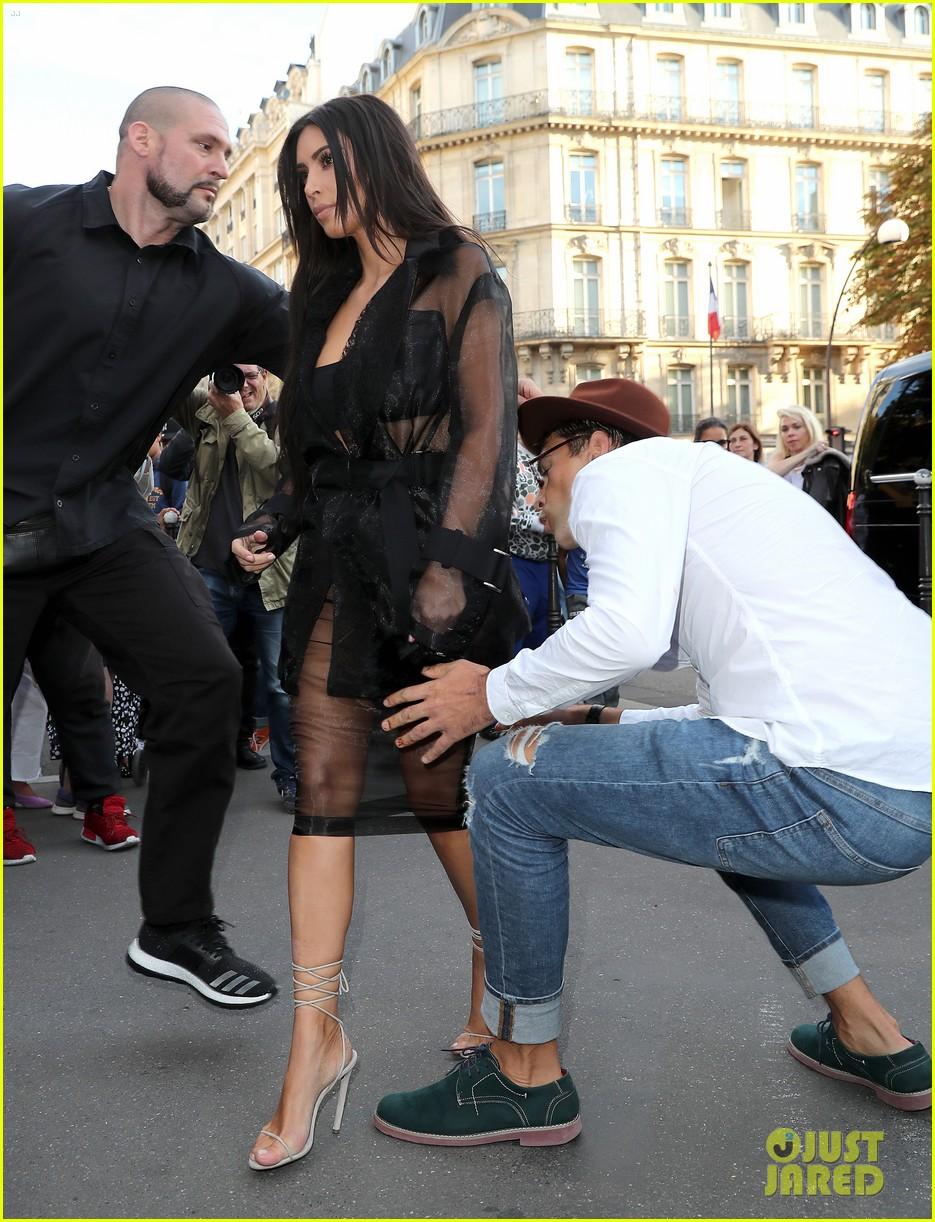 Kim Kardashian Attacked By Vitalii Sediuk In Paris Photos