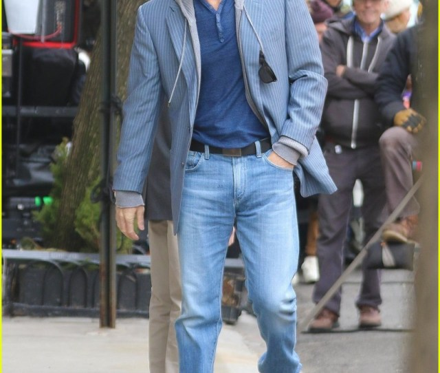 Nicole Kidman Gets Silly On The Goldfinch Set With Luke Wilson