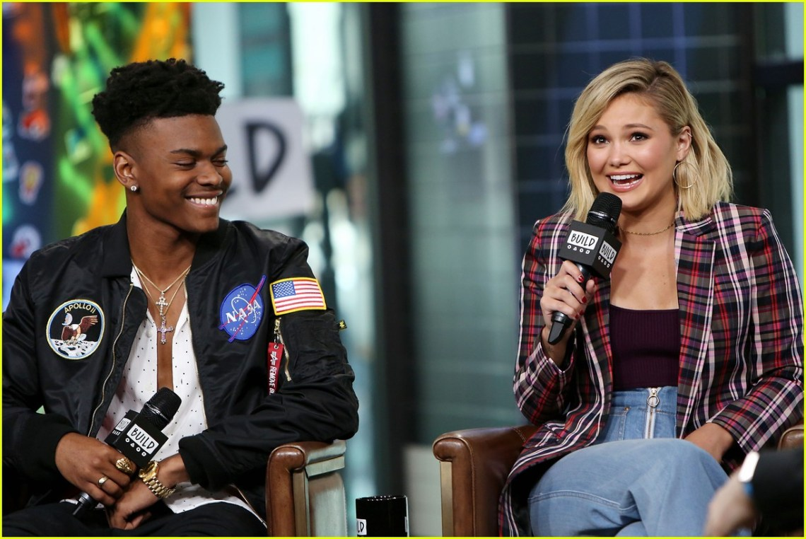 Image result for Olivia Holt and Aubrey Joseph