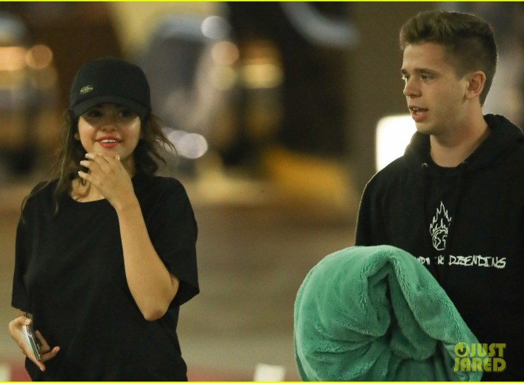 Image result for Selena Gomez & Caleb Stevens Enjoy Night out with Their Friends👫*