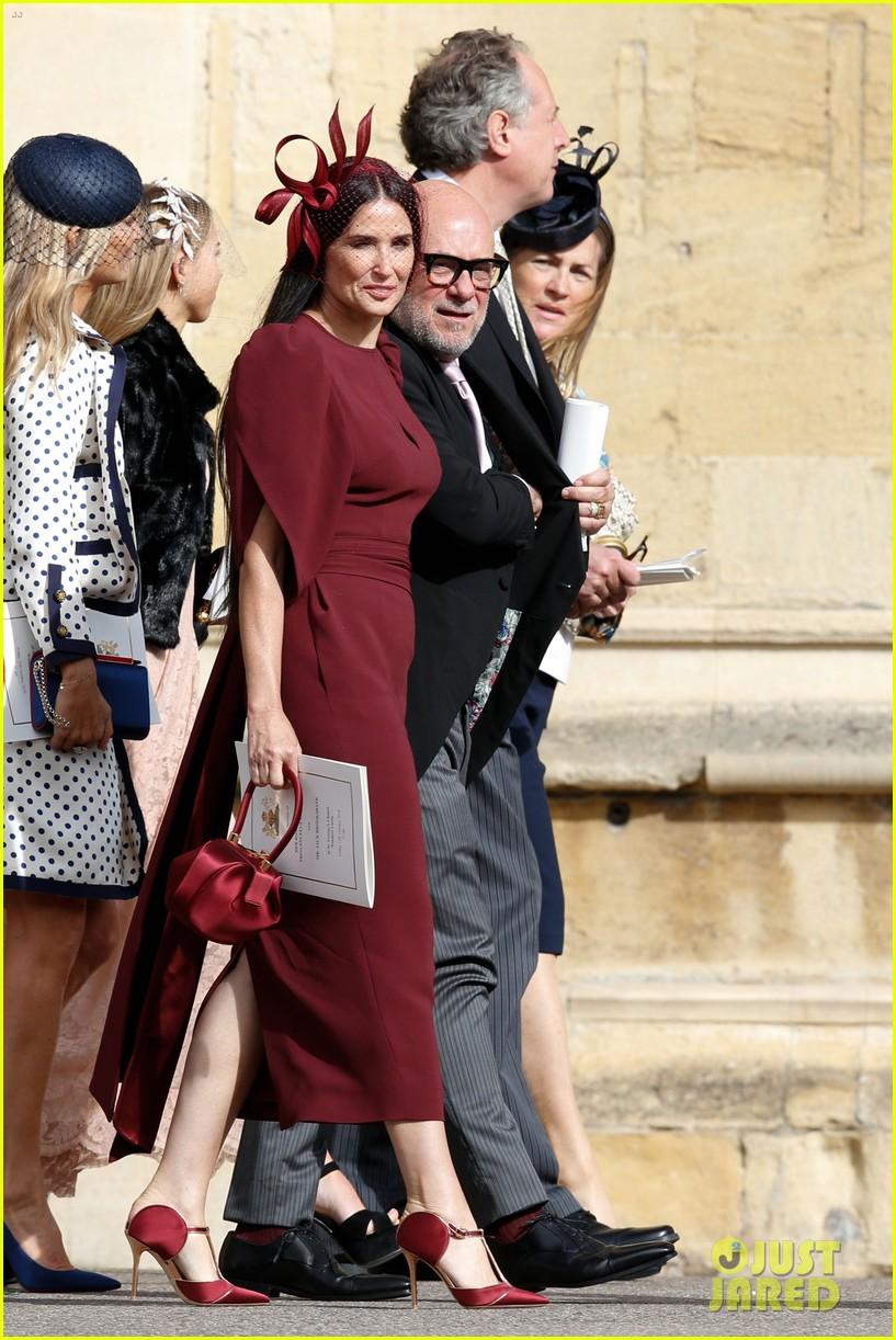 Demi Moore Dazzles At Princess Eugenies Wedding Photo