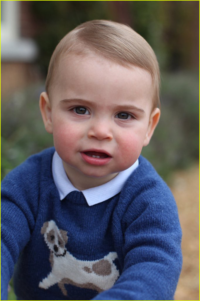 Prince Louis Is All Smiles In First Birthday Portraits Taken By Mom Kate Middleton Photo
