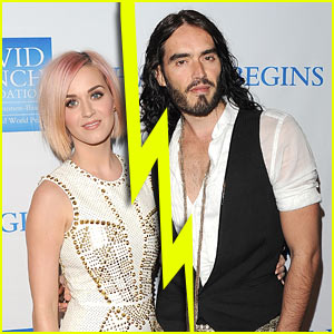 Katy Perry/ Russell Brand Officially Separated