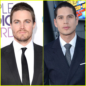 J D  Pardo Photos  News and Videos   Just Jared Stephen Amell   J D  Pardo   People s Choice Awards 2013