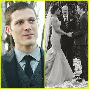 Zach Gilford Tears Up In Wedding Photos With Kiele Sanchez