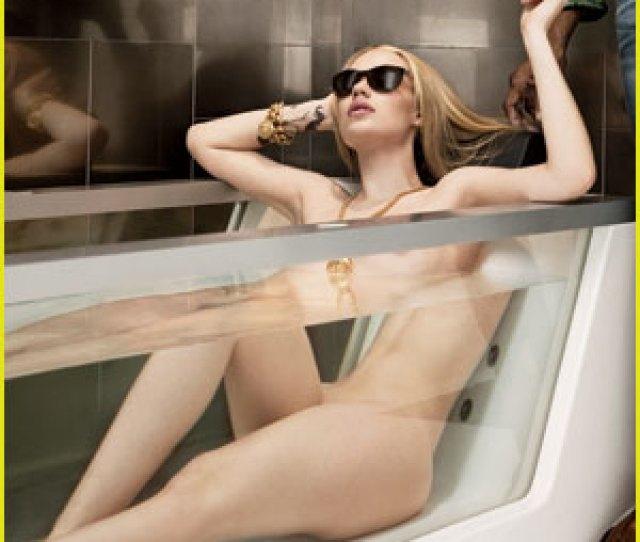 Iggy Azalea Flaunts Sexy Naked Body In Bath Tub For Gq