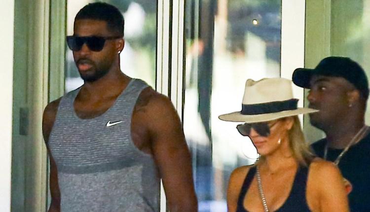 Khloe Kardashian & Tristan Thompson Hold Hands in Miami ...