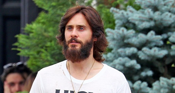 Jared Leto Shows Off His Full Beard in NYC | Jared Leto ...