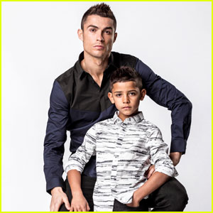 Cristiano Ronaldo & Son Cristiano Jr Team Up For Adorable 'CR7' Campaign