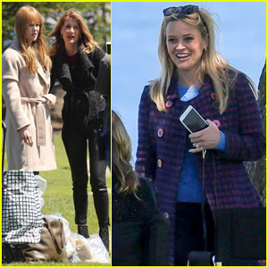 Nicole Kidman & Reese Witherspoon Have Fun in Monterey While Filming 'Big Little Lies'