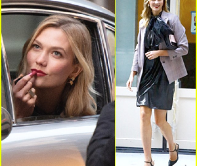 Karlie Kloss Goes Glam For Photo Shoot In Nyc