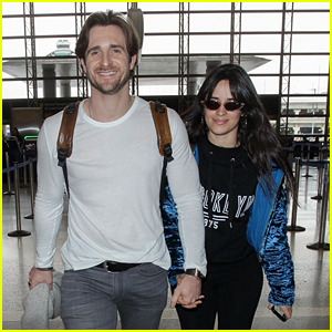 Camila Cabello's Boyfriend Matthew Hussey Joins Her for a Flight Out of L.A.