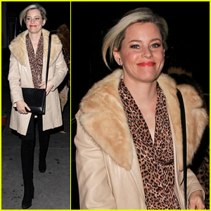 Elizabeth Banks & Friends Wear Animal Prints for Her 45th Birthday Dinner!