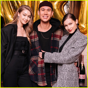 Gigi & Bella Hadid Celebrate Makeup Artist Patrick Ta's Birthday in NYC!