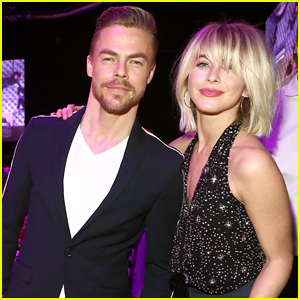 Julianne & Derek Hough Make It a Family Affair at Steven Tyler's Grammys 2019 Viewing Party