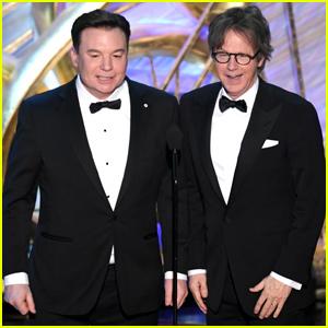 Mike Myers & Dana Carvey Bring 'Wayne's World' to Oscars 2019!