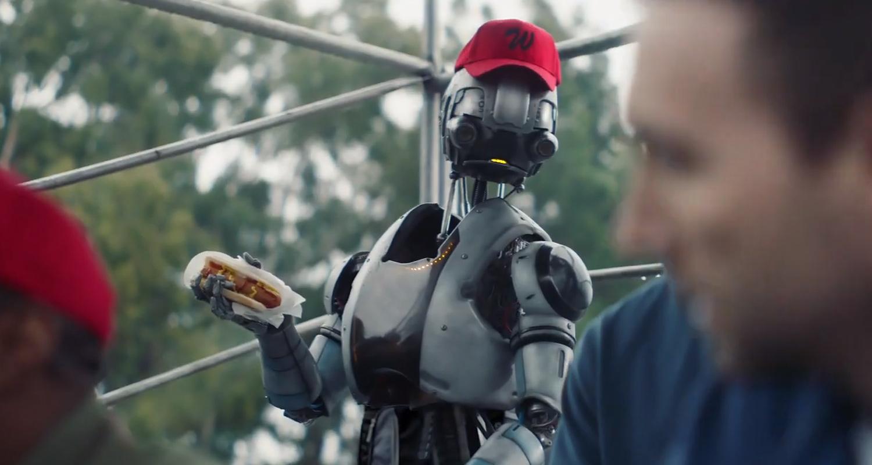 Image result for simplisafe robot superbowl