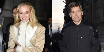 Sophie Turner & Nikolaj Coster-Waldau Have Seemingly Started 'Game of Thrones